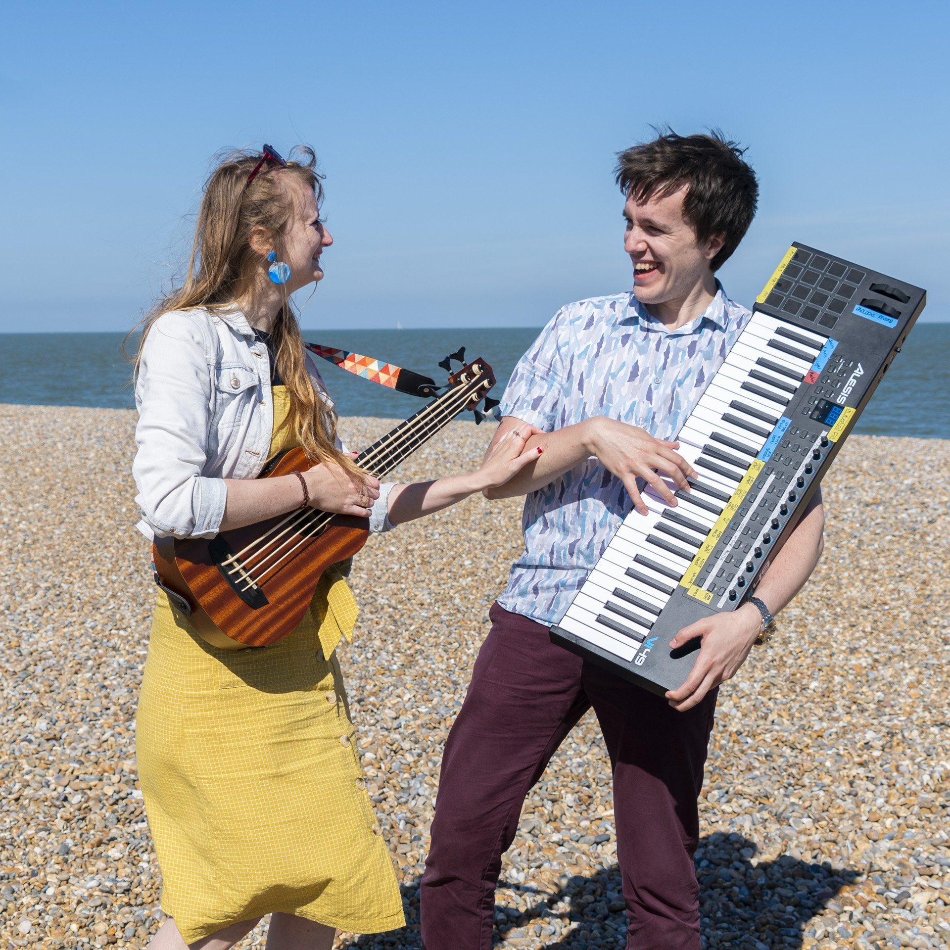 Charlie + Jake | Bristol-based vocal and piano / double bass duo
